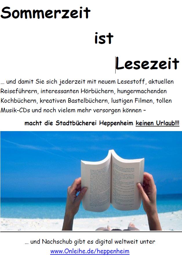 {#Sommerzeit Plakat}