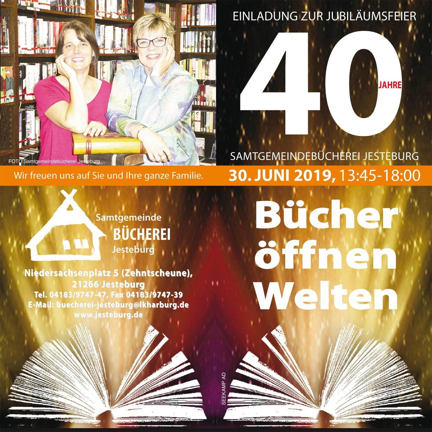 {#Büchereifest Plakat}
