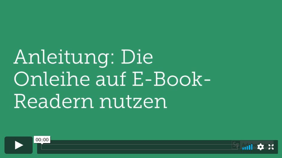 {#Bild Videoanleitung Tolino}