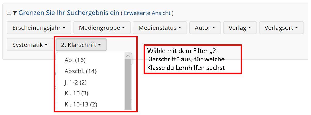 {#Filter Lernhilfen}
