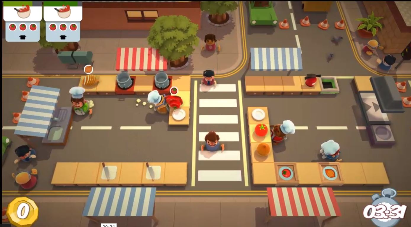 {#Gaming overcooked}
